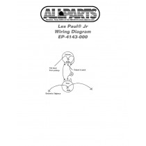 ALLPARTS EP-4143-000 Wiring Kit for Gibson Les Paul SG Jr