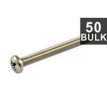 ALLPARTS GS-0010-B05 Bulk Pack of 50 Steel Bridge Length Screws