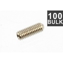 ALLPARTS GS-0049-B01 Bulk Pack of 100 Nickel Metric Guitar Bridge Height Screws