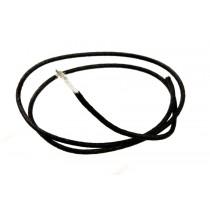 ALLPARTS GW-0820-B23 Bulk Roll of Black Cloth Wire