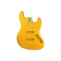 ALLPARTS JBF-CAY Candy Apple Yellow Finished Replacement Body for Jazz Bass