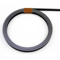 ALLPARTS LT-1436-033 Black White Black Binding .06 inch