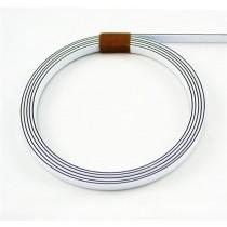 ALLPARTS LT-1436-035 White Black White Binding .06 inch