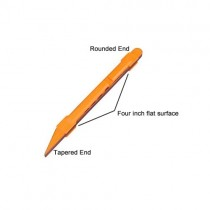 ALLPARTS LT-4622-000 Orange 180 Grit Sanding Detailer Tool
