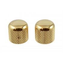 ALLPARTS MK-0910-002 Gold Dome Knobs