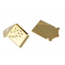 ALLPARTS MT-0987-002 Mandolin Tailpiece Gold