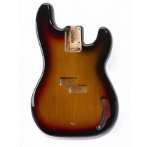 ALLPARTS PBF-3SB Sunburst Finished Replacement Body for Precision Bass