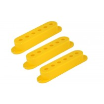 ALLPARTS PC-0406-020 Set of 3 Yellow Pickup Covers for Stratocaster