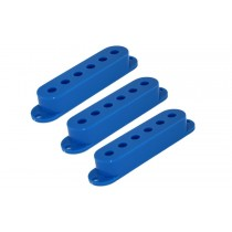 ALLPARTS PC-0406-027 Set of 3 Blue Pickup Covers for Stratocaster