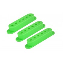 ALLPARTS PC-0406-029 Set of 3 Green Pickup Covers for Stratocaster