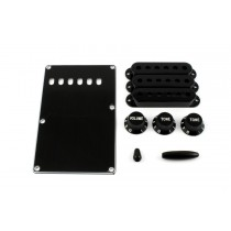 ALLPARTS PG-0549-023 Black Accessory Kit for Stratocaster
