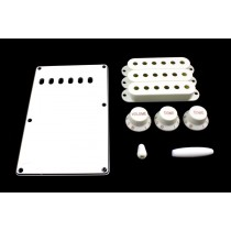 ALLPARTS PG-0549-025 White Accessory Kit for Stratocaster