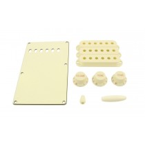 ALLPARTS PG-0549-050 Parchment Accessory Kit for Stratocaster