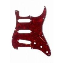 ALLPARTS PG-0552-044 Red Tortoise Pickguard for Stratocaster
