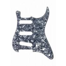 ALLPARTS PG-0552-053 Black Pearloid Pickguard for Stratocaster
