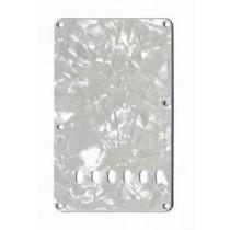ALLPARTS PG-0556-055 White Pearloid Tremolo Spring Cover