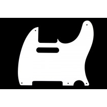 ALLPARTS PG-0560-025 White Pickguard for Telecaster