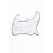 ALLPARTS PG-0562-055 White Pearloid Pickguard for Telecaster