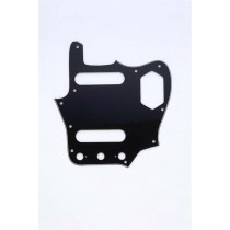 ALLPARTS PG-0580-033 Black Pickguard for Jaguar