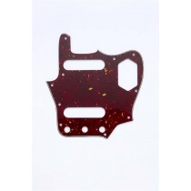 ALLPARTS PG-0580-044 Red Tortoise Pickguard for Jaguar