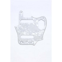 ALLPARTS PG-0580-055 White Pearloid Pickguard for Jaguar