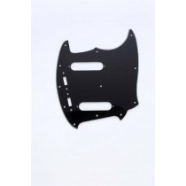 ALLPARTS PG-0581-033 Black Pickguard for Mustang