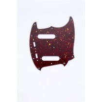 ALLPARTS PG-0581-044 Red Tortoise Pickguard for Mustang