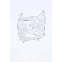 ALLPARTS PG-0581-055 White Pearloid Pickguard for Mustang