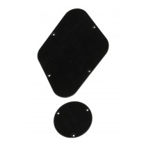 ALLPARTS PG-0814-023 Black Backplates for Gibson Les Paul