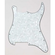 ALLPARTS PG-0992-055 White Pearloid Outline for Stratocaster