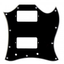 ALLPARTS PG-9803-033 Large Black Pickguard for Gibson SG