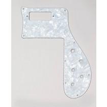 ALLPARTS PG-9845-055 White Pearloid Pickguard for Rickenbacker 4001