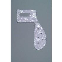 ALLPARTS PG-9849-055 White Pearloid Pickguard for Rickenbacker 4003