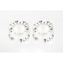 ALLPARTS PK-0130-031 Clear Speed Knobs