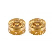 ALLPARTS PK-0130-032 Gold Speed Knobs