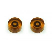 ALLPARTS PK-0132-022 Speed Knob Set 0-11 Amber