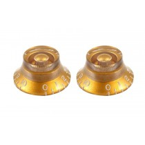 ALLPARTS PK-0140-032 Gold Bell Knobs