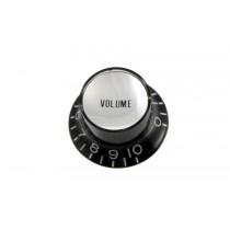 ALLPARTS PK-0184-023 Black Volume Reflector Knobs