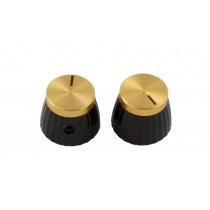 ALLPARTS PK-3298-002 Marshall Gold Top Knobs
