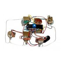 ALLPARTS PU-1276-000 Bartolini Active 3-band Bass Pre Amp