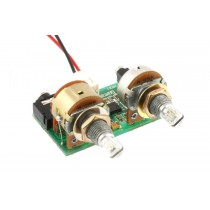 ALLPARTS PU-6413-000 Piezo Preamp with Volume and Tone