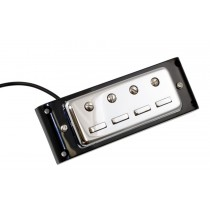 ALLPARTS PU-6420-010 Chrome Pickup for Hofner Style Bass