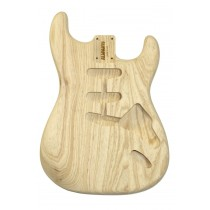 ALLPARTS SBAO-HT Hardtail Ash Replacement Body for Stratocaster