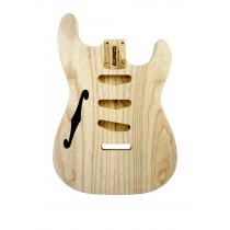 ALLPARTS SBAO-TL Thinline Ash Replacement Body for Stratocaster