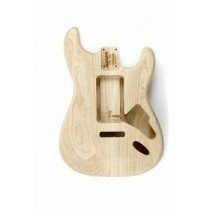 ALLPARTS SBAO-U Universal Route Ash Replacement Body for Stratocaster