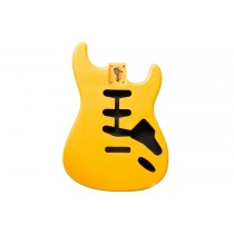 ALLPARTS SBF-CAY Candy Apple Yellow Replacement Body for Stratocaster