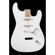ALLPARTS SBF-OW Olympic White Finished Replacement Body for Stratocaster