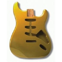 ALLPARTS SBF-SGM Shoreline Gold Finished Replacement Body for Stratocaster