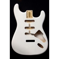 ALLPARTS SBF-WH White Finished Replacement Body for Stratocaster