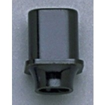 ALLPARTS SK-0713-023 Black Switch Knobs for Telecaster